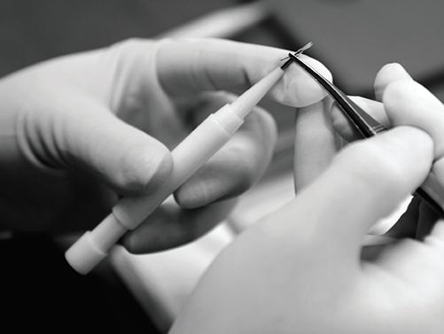 Hair Implanting process